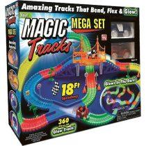 Magic Tracks 366 db-os mágikus autópálya, világító autókkal