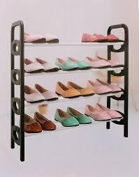 4 szintes cipőtároló állvány 16 pár cipőnek