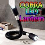 Kobra dupla led lámpa