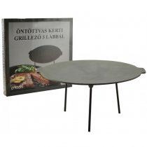 Öntöttvas Boronatárcsa / kerti grillező - 45 cm