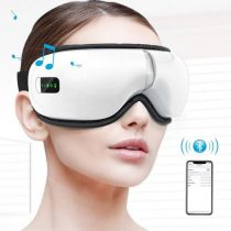 Elektromos fűtéses masszázs Bluetooth szemmasszírozó