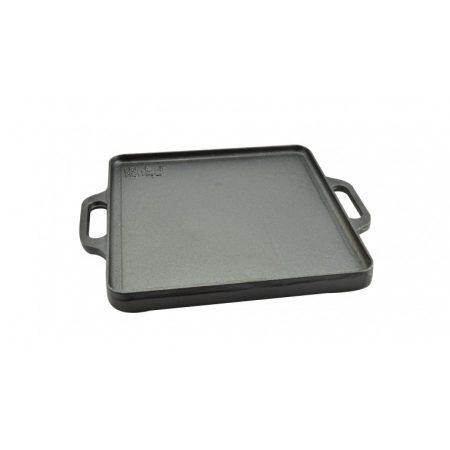Perfect Home, Öntöttvas grill lap, 2 oldalas  32 x 32 cm