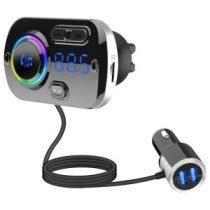 Transzmitter BC49BQ Bluetooth Autós MP3 Lejátszó FM Led Kijelzővel
