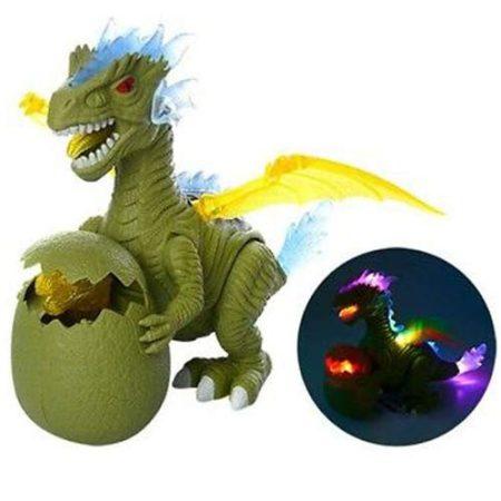 Dinoszaurusz fénnyel és hanggal