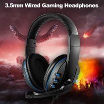 Gamer fejhallgató 7.1 sztereo hanghatás Gaming GM001