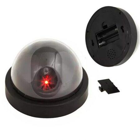 2 db Biztonsági álkamera LED visszajelző fénnyel