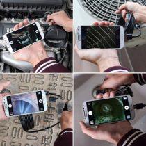 Endoszkóp kamera androidos okos telefonokhoz 2 Méteres