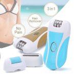 Újratölhető epilátor, 2 sebbeségi fokozattal