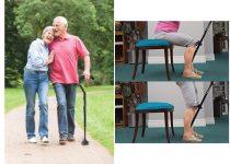 Multifunkciós járássegítő sétabot