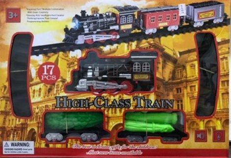 Elemes vonat pálya szett
