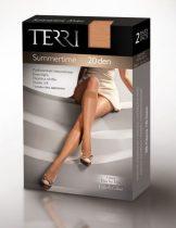 TERRI - Summertime 20 denes térdfix lábujj megerősítéssel, elasztikus szegéllyel