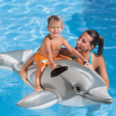Intex  Felfújható delfin, 175x66 cm