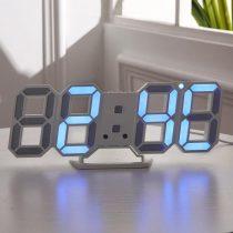 Asztali, fali, 3D LED kijelzős digitális óra