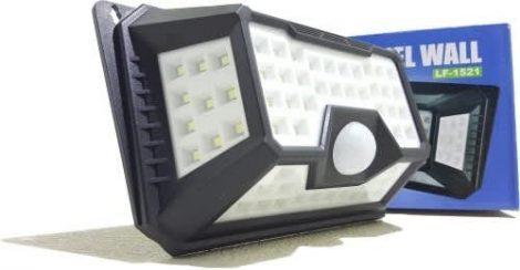LED napelemes, fali lámpa 66 LED