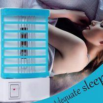 4x LED UV-A típusú fény  rovarcsapda, szúnyogirtó-konnektoros