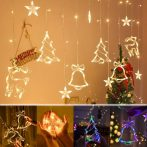 Beltéi Karácsonyi LED fényfüzér - dekoráció