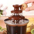 Emeletes Csokoládé Szökőkút - fondü készlet az édesszájúaknak partikra, ünnepnapokra!