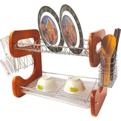 BOHMANN Inox/Fa edényszárító