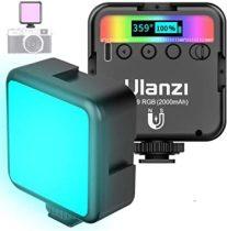 Ulanzi VL49 LED lámpa, videólámpa beépített akkumulátorral