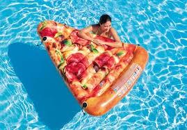 Intex Pizza Slice Felfújható matrac, 1.75m x 1.45m