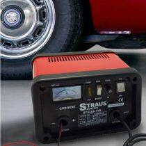 Straus akkumulátor töltő gyors töltés funkcióval ST/CA10-14B