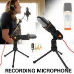 Kondenzációs mikrofon asztali állvánnyal / SF-666