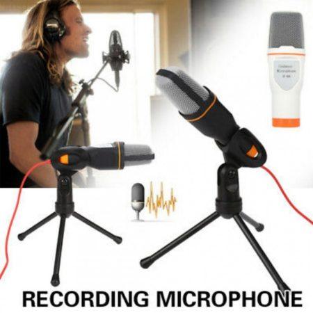 Kondenzátor mikrofon asztali állvánnyal / SF-666