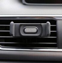 Autós telefontartó szellőzőnyílásba, 6-8 cm széles telefonokhoz