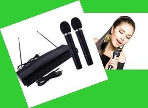 Dupla Wireless Mikrofon