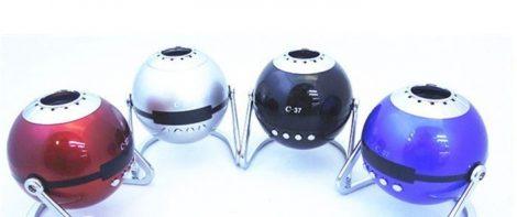 Mini gömb zenelejátszó